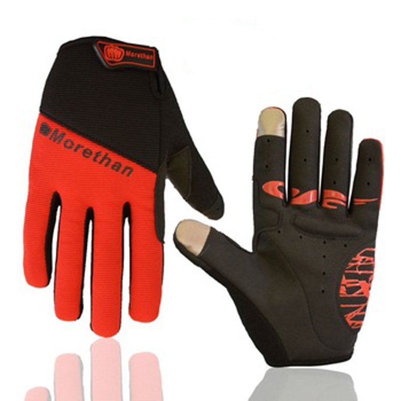 winter glove road mtb mountain bicycle sports equipment Keep warm Full finger touch screen cycling gloves in stock