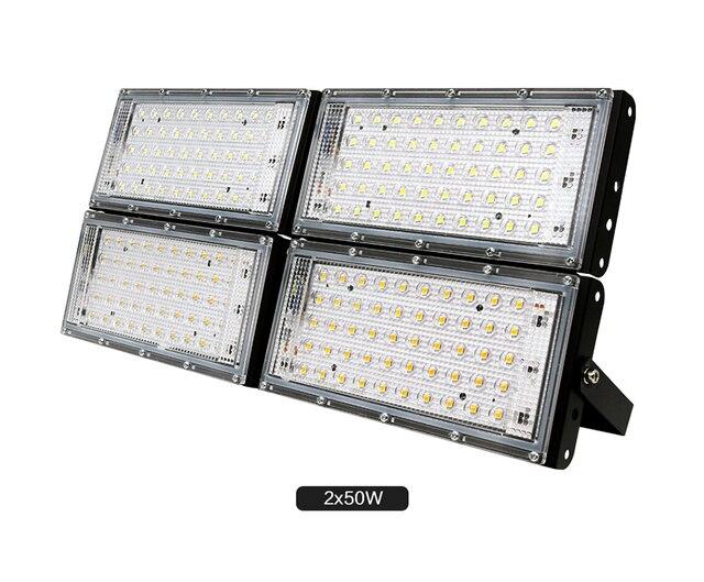 Led Işıklandırmalı 50 W Su Geçirmez IP65 Açık LED Reflektör Işık Bahçe Lambası AC 220 V 240 V Spot Sokak Aydınlatma