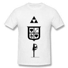 Summer 2017 Famous Brand The Legend Of Zelda Shirt Letter T Shirt men Casual T-shirt Custom