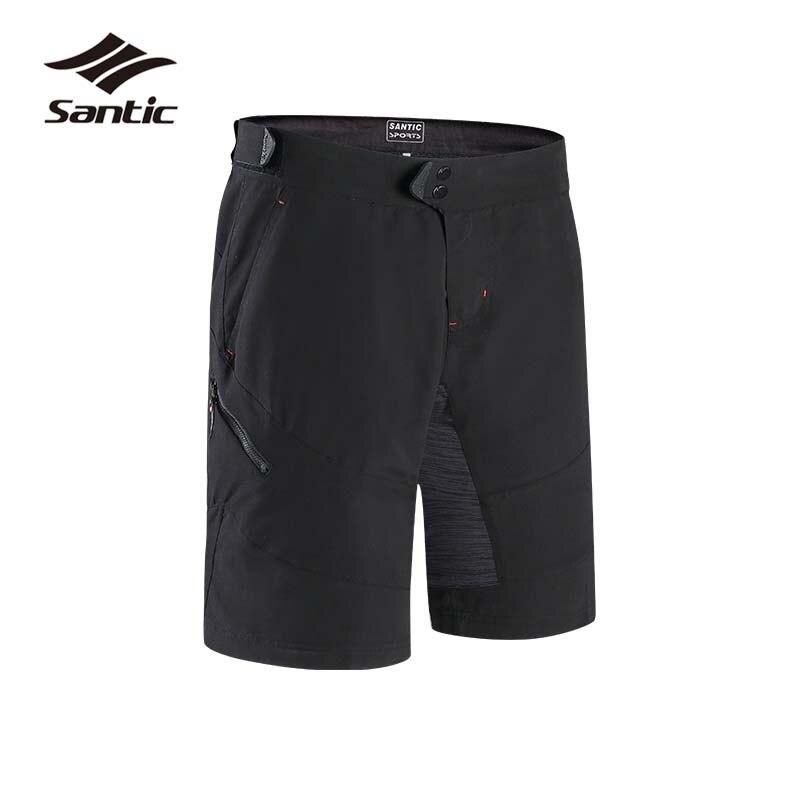 3fadde9c8 Santic Cycling Shorts Men Mountain Bike Shorts Loose Bicycle Short Pants  Bermuda Ciclismo Anti-pilling Sport Downhill Shorts