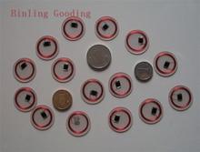 13.56 МГЦ MF 1 К F08 S50 NFC Метки ISO14443A NFC Прозрачный Монета Карты 18 мм Крошечные NFC