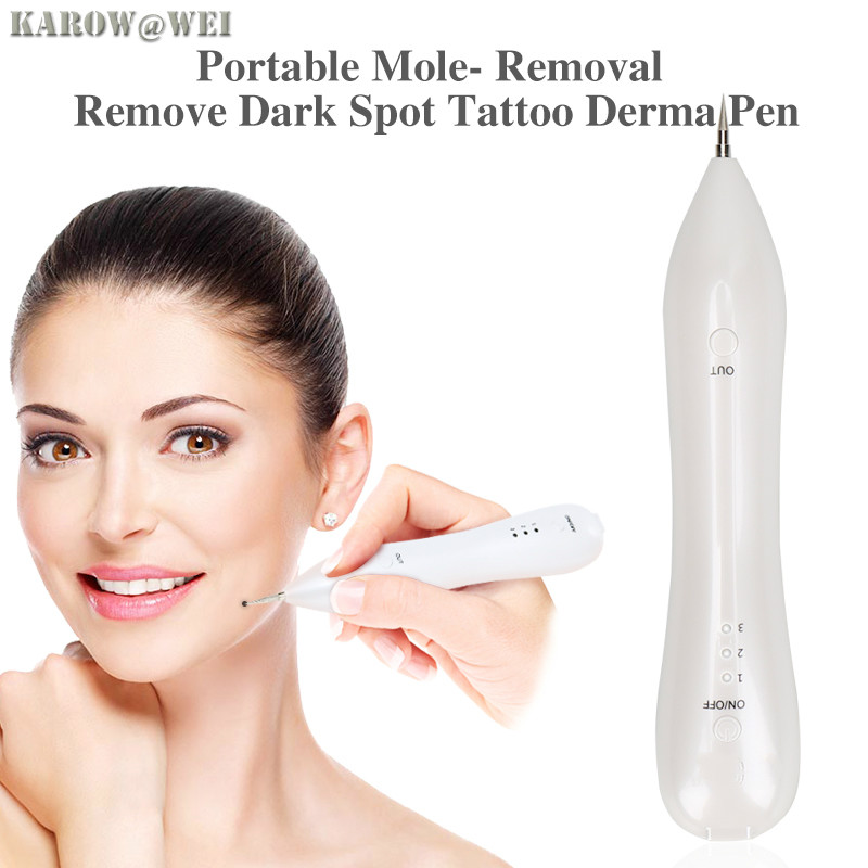 Tattoo Mole Removal Plasma Pen Laser Facial Freckle Dark Spot Remover Tool Wart Removal Machine Face Skin Care Beauty Device deep face cleansing brush facial cleanser 2 speeds electric face wash machine