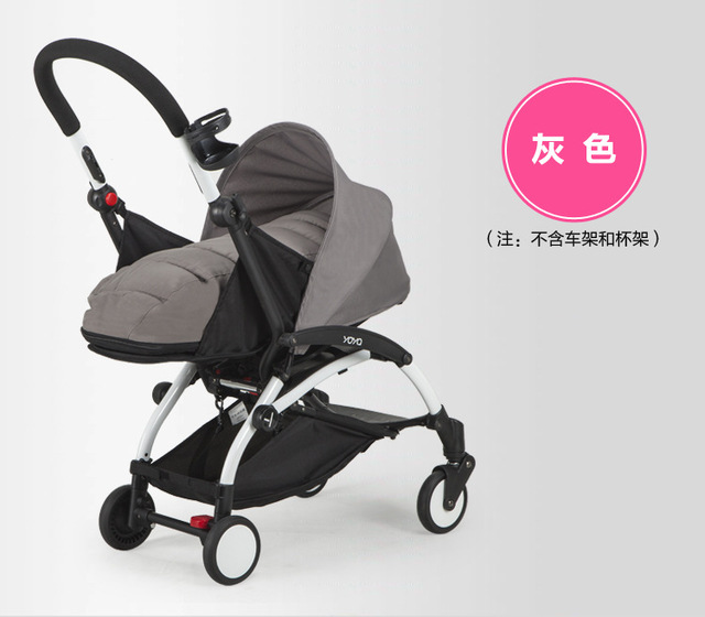 sleeping basket for buggy baby stroller trolley car portable folding umbrella can sit and lie