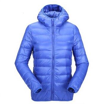 Zogaa 2019 Autumn Winter Ultra Light Down Jacket Women Windproof Warm Lightweight Packable Down Coat Plus Size Women Parkas 1