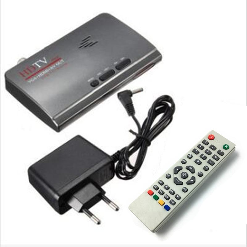 LNOP DVB-T2/T TV Box Tuner Ricevitore Digitale Terrestre HDMI 1080 P VGA AV CVBS Con Telecomando UE US