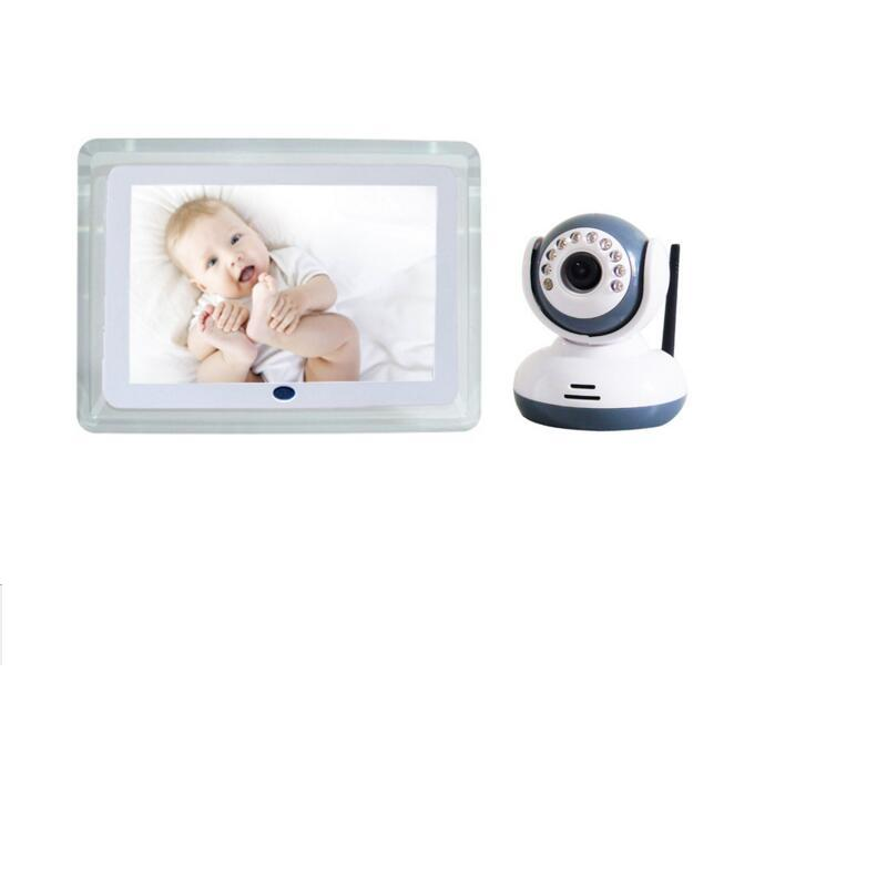 Explosion Models Wireless Digital Baby Monitor 7inch LCD Baby Monitoring Color LCD Multi-linguge