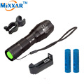 ZK10 Waterproof CREE XM-L T6 3000 Lumens 5 Modes Zoomable LED Flashlight Torch LED Cycling Bike Bicycle Front Head Light