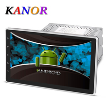 Kanor Android 5.1 1024*600 Quad Core 10,1 zoll Doppel 2DIN Auto GPS DVD-Player Bluetooth Stereo Sat Nav RDS USB WIFI Multimedia