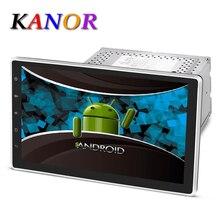 Kanor Android 5.1 1024*600 Quad Core de 10.1 pulgadas Doble 2DIN Coche GPS Dvd Bluetooth RDS Estéreo Sat Nav WIFI USB Multimedia