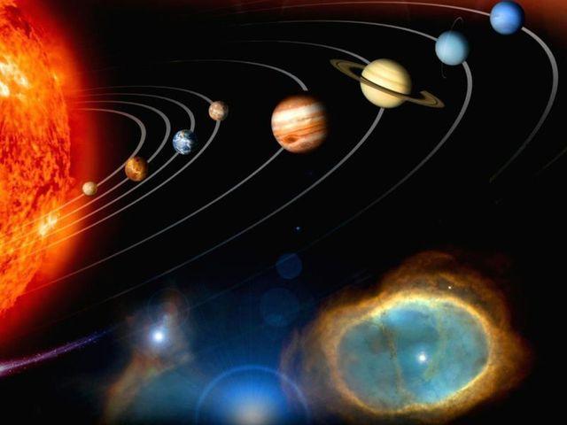 Cosmos spazio di sistema solare di seta arte decorazione camera da
