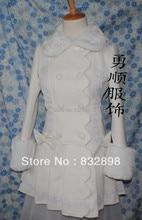 Lolita Princess Cute Coat Lovely Japanese Wool Winter Sweet Lolita Coat Girls Winter Coats Brand Long Winter Coat