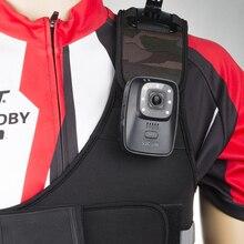 Original SJCAM A10 Law Enforcement Camera Wearable IR-Cut B/W Switch Night Vision Laser Lamp Infrared Action Cam 2650mAh Battery