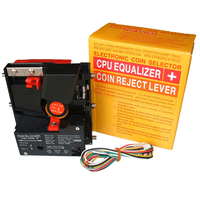 CH 268T Top Entry Single Coin Acceptor Token Selector Coin Mech for Arcade Game Cabinet Kiosk Vending Machines