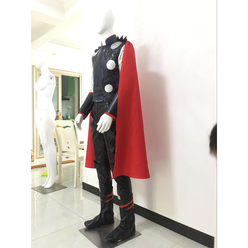 Age Of Ultron Thor Odinson Male Outfit Cosplay Costume Halloween Party Avengers