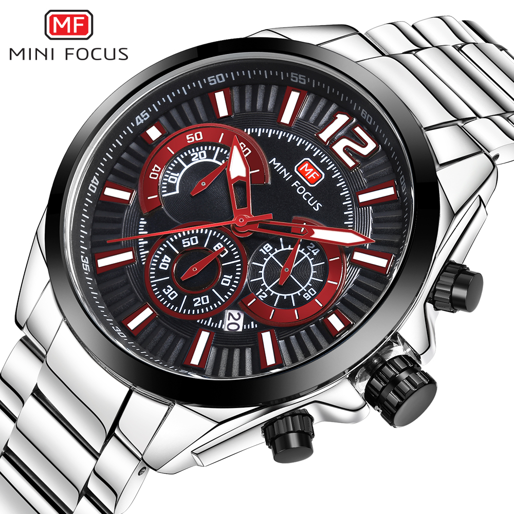 MINI FOCUS Wrist Watch Men Top Brand Luxury Famous Male Clock Quartz Watch Wristwatch Quartz-watch Relogio Masculino MF0104G.01 bailishi watch men watches top brand luxury famous wristwatch male clock golden quartz wrist watch calendar relogio masculino