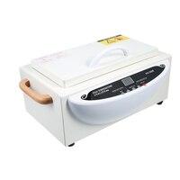 Новые Температура УФ стерилизатор ногтей Инструмент стерилизатор коробка с горячей очиститель воздуха кабинет маникюрные инструменты