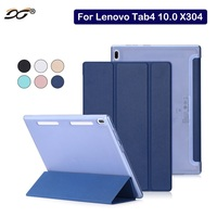 For LenovoTab4 10 0 TB X304 Case Xinysan High Quality Soft PU Leather Stand Case Cover