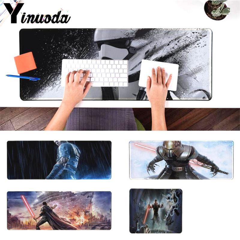 Yinuoda клиента Звездные войны the force unleashed большой Мышь pad PC компьютер коврик Размеры для 18x22 см 20x25 см 25x29 см 30x90 см 40x90 см