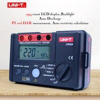 UNI T UT502A Digital Insulation Resistance Tester Megohmmeter AC Voltmeter Continuity Test LCD Backlight High voltage indication