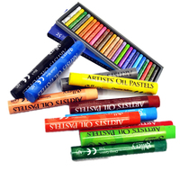 Artist Oil Pastels 25 Colors Set Painting Supplies Crayons For Children Chalk Pastels Color Temporary Pastel