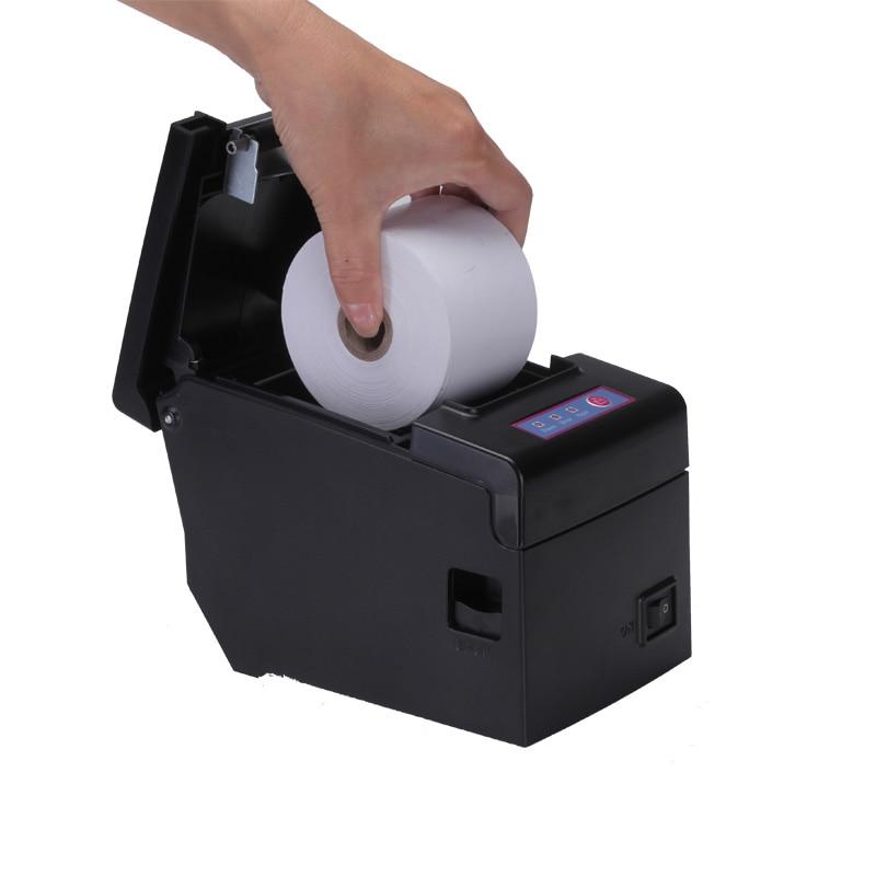 Qualität 2-Zoll-Ethernet-Thermodrucker mit Metallmesser Zahn großen - Büroelektronik - Foto 3