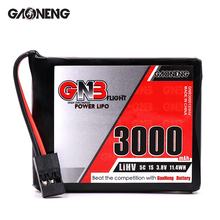 2 PCS GAONENG GNB 3000 mAh 1S1P 3.8 V HV 5C Lipo סוללה עבור SANWA MT44 שלט רחוק RX TX סוללה RC חלקי