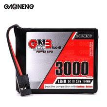 Литий полимерный аккумулятор GAONENG GNB 3000 мАч 1S1P 3,8 в HV 5C для пульта дистанционного управления SANWA MT44, детали для радиоуправляемых моделей, 2 шт.