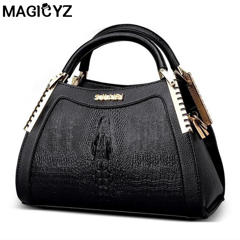 High quality Designer handbags 3D Alligator Embossing Women bag Luxury Ladies Hand Bags Famous Brands Shoulder Bag Sac real genuine leather women s handbags luxury handbags women bags designer famous brands tote bag high quality ladies hand bags