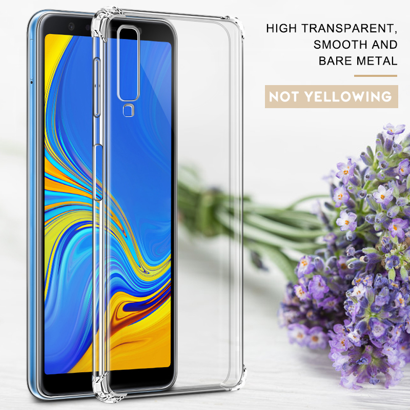 Airbag TPU Case For Samsung Galaxy S10 S9 S8 Plus J8 J6 J4 Plus 2018 J2 Core J7 J3 J5 2017 S10 E Crystal Shockproof Cover