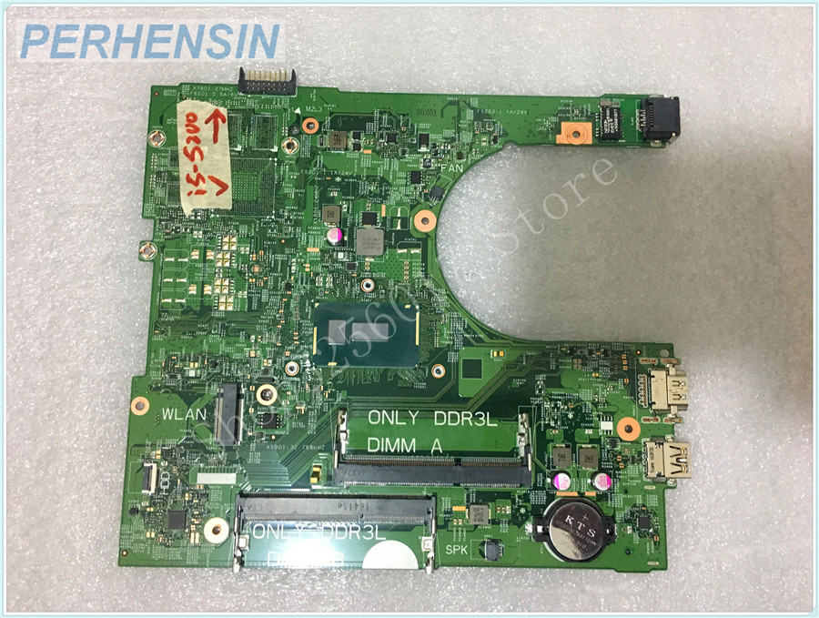Для DELL Inspiron 3558 Материнская плата ноутбука i5 5200U