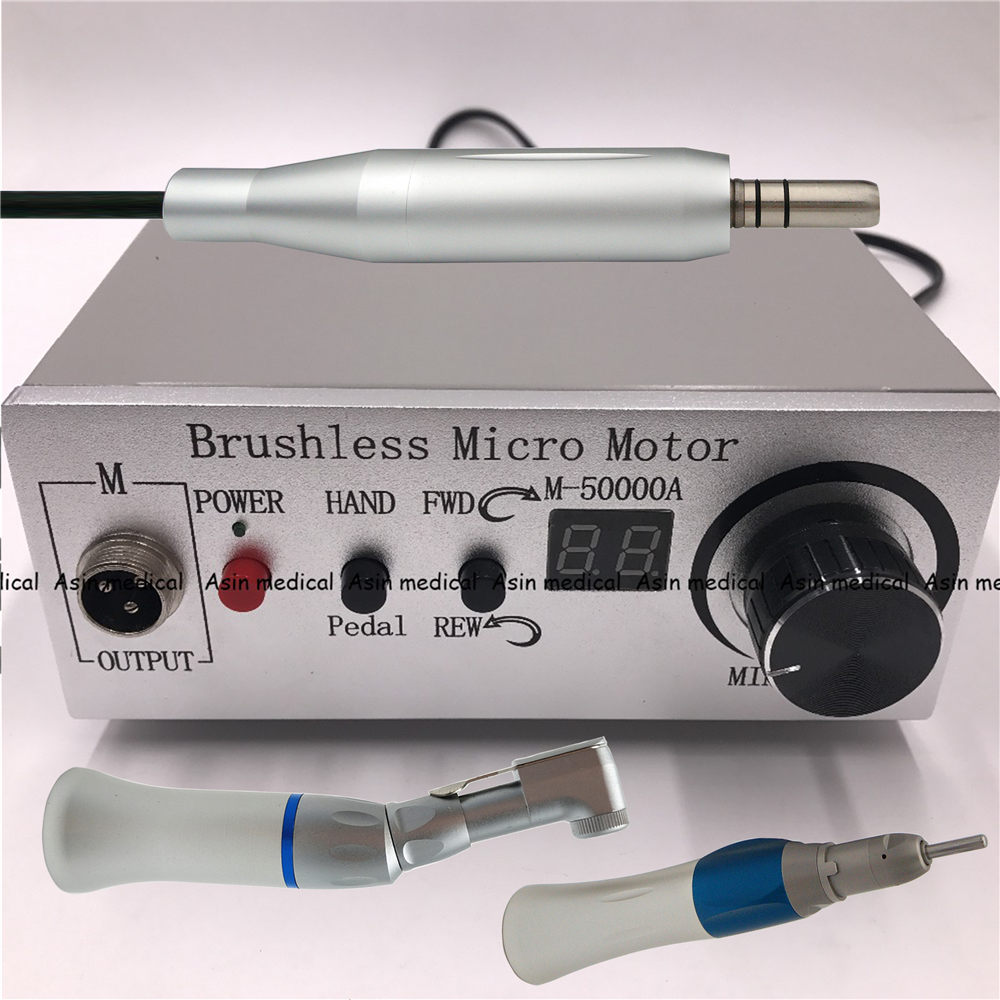 high quality 50,000 rpm dental brushless jewelry E type micromotor for dental laboratory Polishing set цена 2017