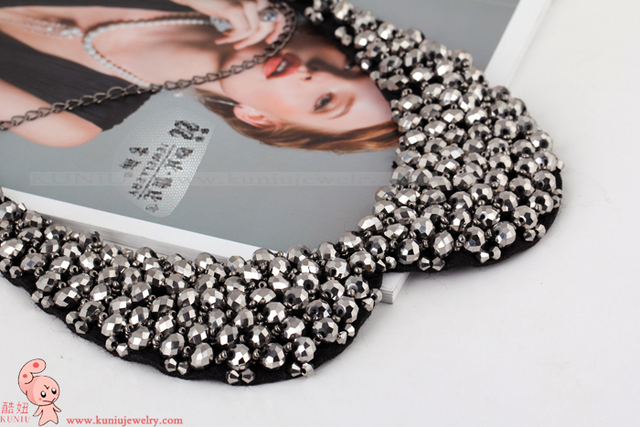YL0015 2013 Handmade Pearl False Collar Necklaces Fashion Jewelry Choker For Women Wholesale