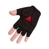 Non-slip Sports Cycling Gloves Short Gel Shock Resistance BMT Bike Gloves Mens Half Finger Cycling Gloves