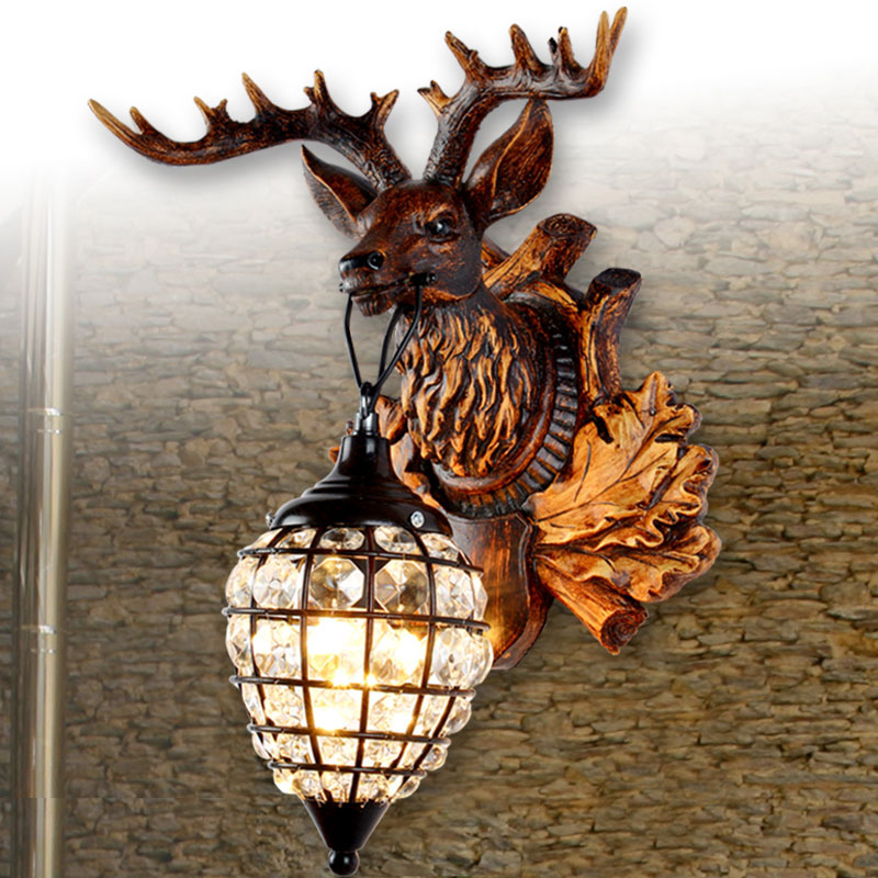 s back zoom wrought sconce wall with plate light sconces coues antler deer loading iron