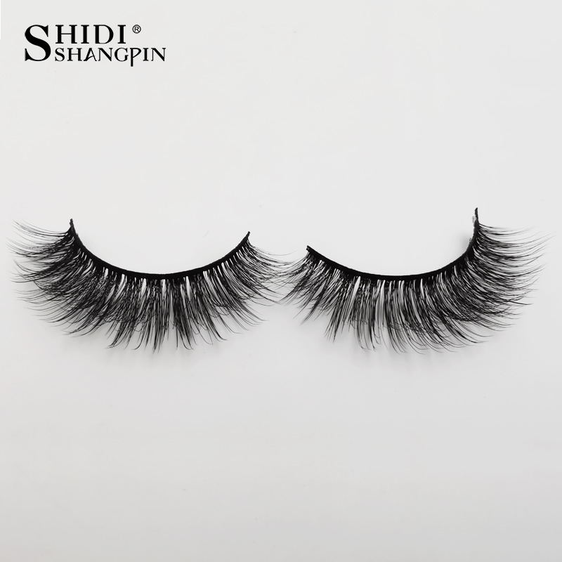 HTB1NPFMbEzrK1RjSspmq6AOdFXah Natrual long 3D Mink False Eyelashes wholesale 4 pairs Fluffy Make up Full Strip Lashes 3D Mink Lashes faux cils Soft Maquiagem