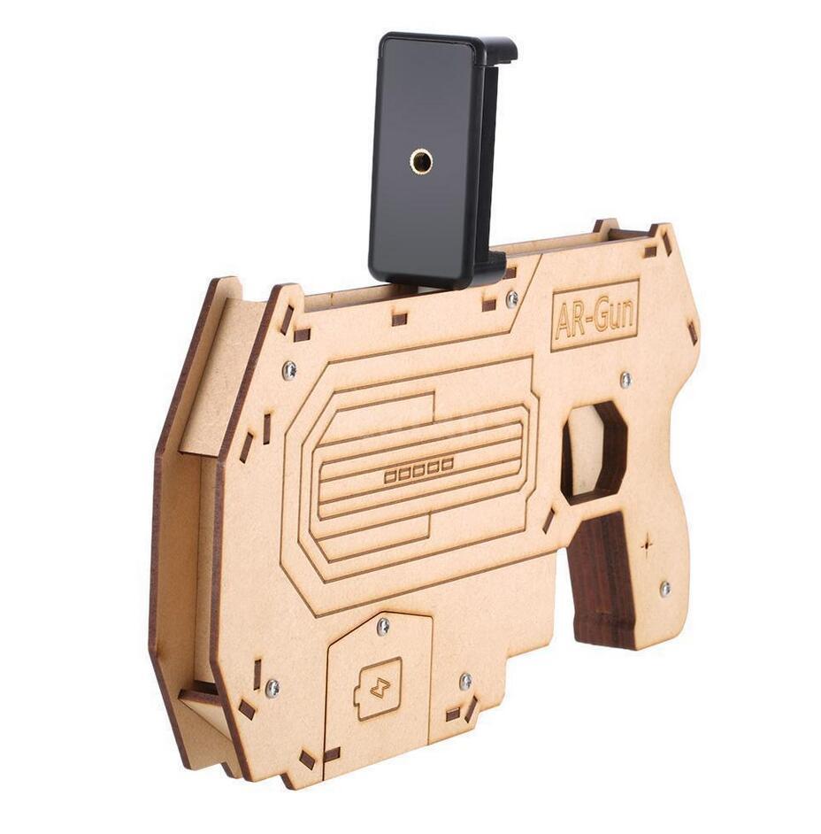 AR пистолет дополненной реальности Стрелялки сотовый телефон Bluetooth управления игрушечный пистолет геймпад для IOS телефона Android