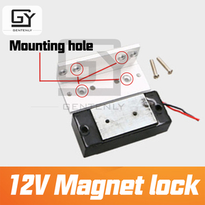 Image 4 - Magnet lock 12V door magnetic escape room prop installed on the door electromagnet lock  prop for escape game by Gentenly