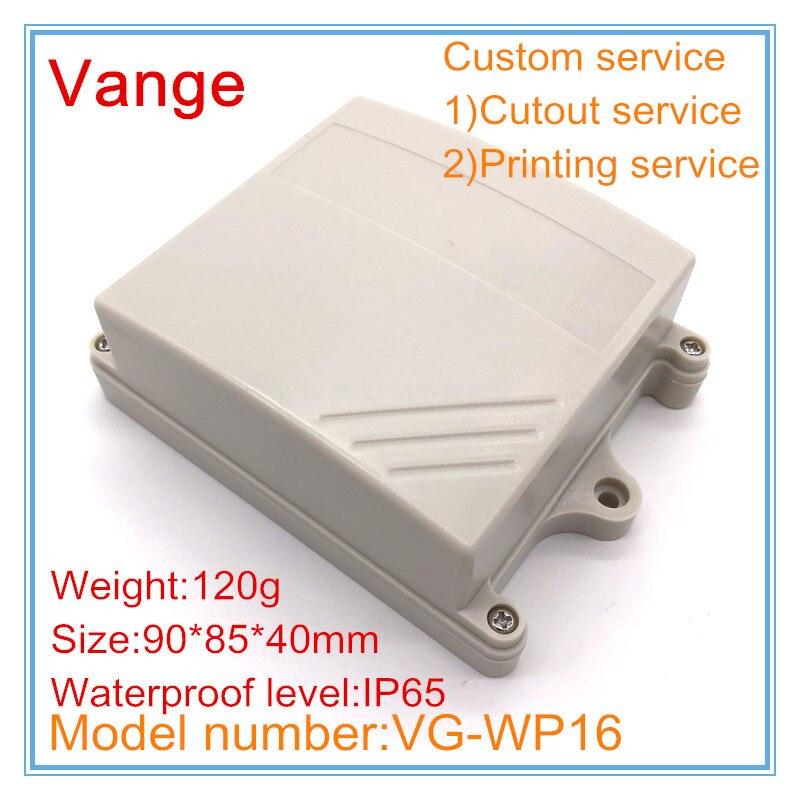 5pcs Electric Plastic Black Waterproof Case Project Junction Box 40*20*11mm WBUS