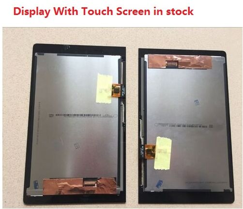 Original For Lenovo YOGA YT3-850M YT3-850F LCD Display With Touch Screen Digitizer Assembly Free Shipping With Tracking Number for lenovo vibe p1 lcd display touch screen digitizer assembly with frame replacement parts free shipping track number