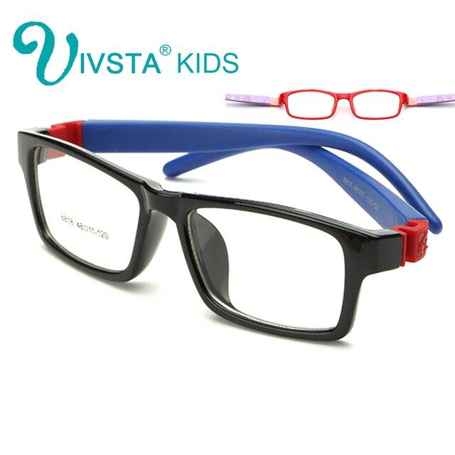 IVSTA 8818 Inquebrável Ópticos Óculos de armação Crianças Óculos Meninos TR  armações de óculos óptica óculos 4561e865da