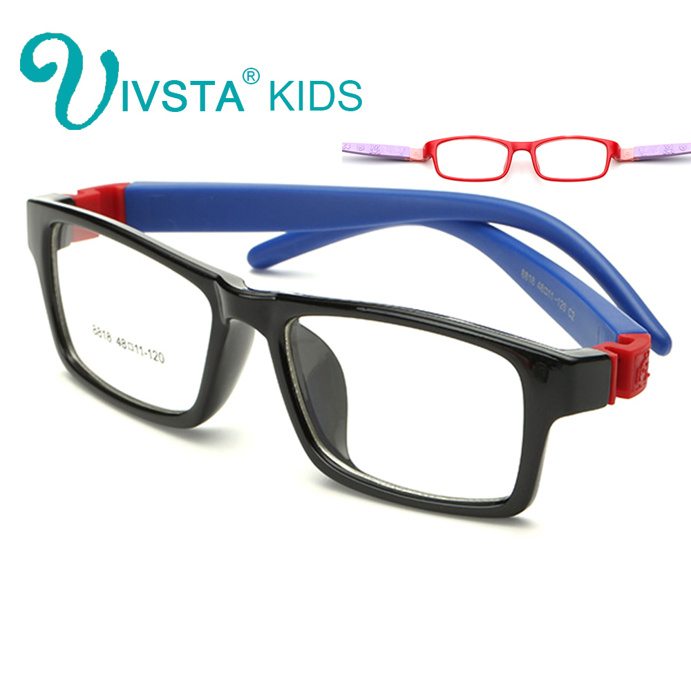 IVSTA 8818 Unbreakable Optical Glasses Frame Barn Glasögon Pojkar Glasögon TR Optikglasögon recept No Screw