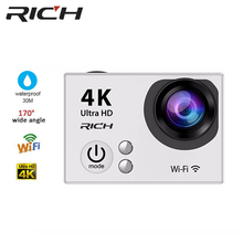 Sale R2 mini action campaign digital camera full 1080 p hd 4 k WIFI waterproof for Android mobile phone video support self insist o