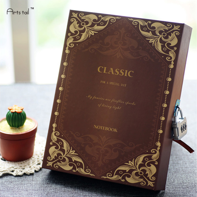Hot Sale Magic Classroom Notebook Diary Handmade Travel Note Book Hard Cover Copybook 2016 hot sale aliexpress handmade