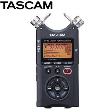 Digital Voice Recorder Rational Tascam Dr-40 Handheld Digital Voice Recorder Professional Aufnahme Stift Original Marke Freies Verschiffen Hohe QualitäT Und Preiswert