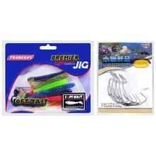 Hot Floating Soft Lures 30pcs/lot Silicone Fishing Bait  + 5pcs Jig Big Treble Hooks 8.5CM-3.5″/2.4G-0.085oz/pcs Bass Baits