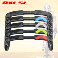 RXL SL Bicycle Winding Handlebar 400/420/440mm Carbon Fiber Handlebars Bicycle Bent Bar Tape UD Matte/Gloss Road Handlebar
