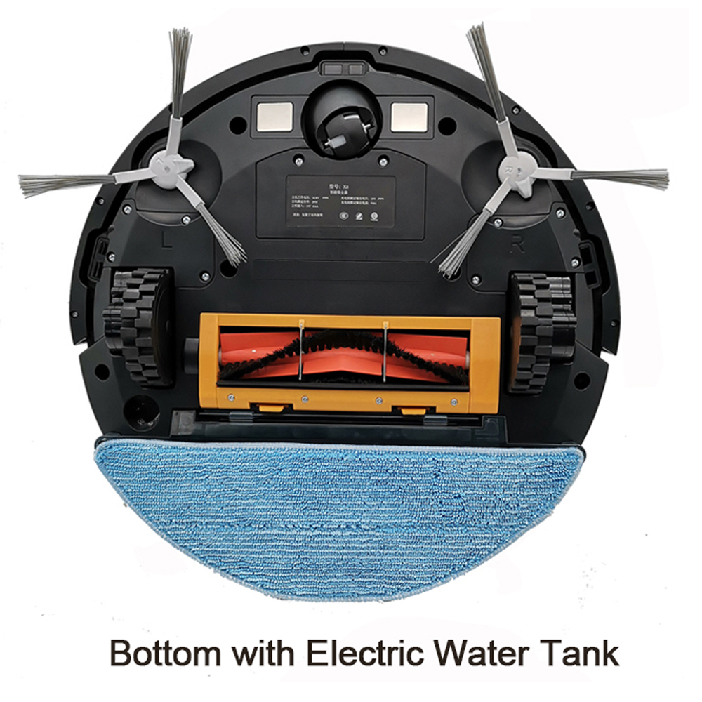 ABIR Robot Vacuum Cleaner x6 with Camera Navigation Smart Memory Hand Draw Virtual Blocker Low Noise ABIR Robot Vacuum Cleaner x6 with Camera Navigation,Smart Memory,Hand Draw Virtual Blocker,Low Noise,Intelligent Big Water Tank