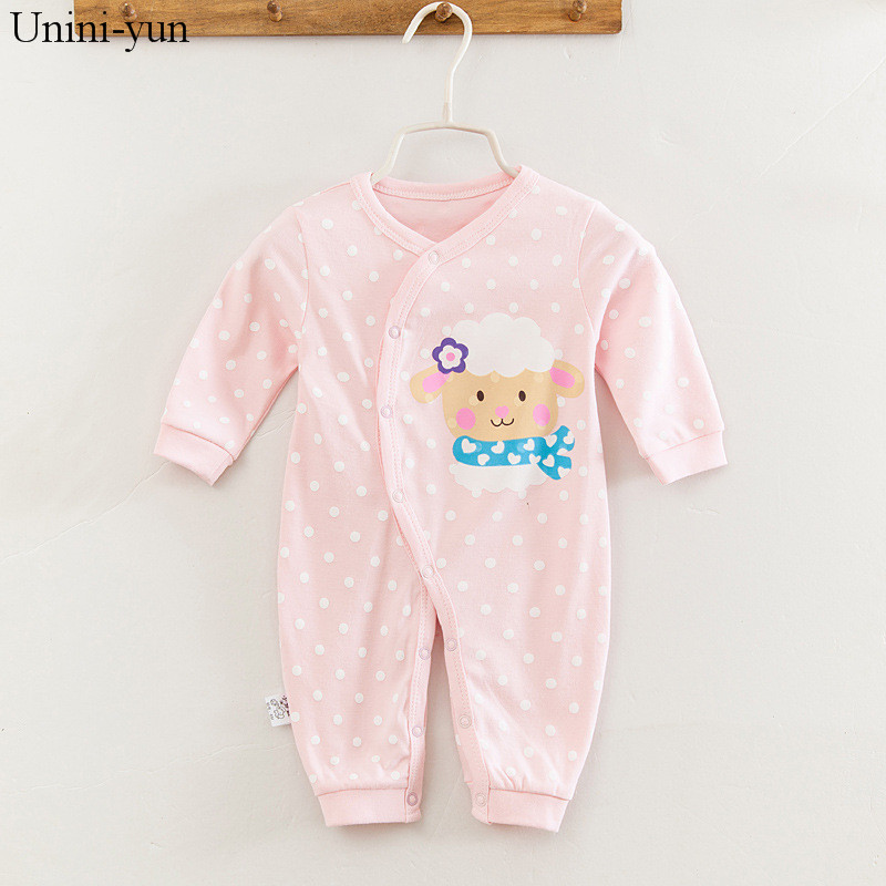 Baby Rompers Spring Baby Girls Clothing Cartoon Newborn Baby Clothes Roupas Bebe Long Sleeve Baby Girl Clothes Infant Jumpsuits star romper spring autumn fashion newborn baby clothes infant boys girls rompers long sleeve coveralls roupas de bebe unisex
