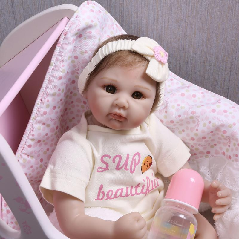 New design reborn baby doll for girls 22 55cm soft silicone reborn dolls toys child birthday gift bebes reborn menina NPKDOLLNew design reborn baby doll for girls 22 55cm soft silicone reborn dolls toys child birthday gift bebes reborn menina NPKDOLL