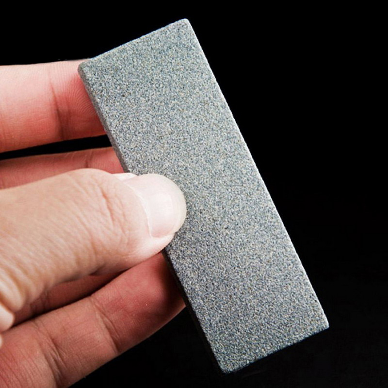 Design Grit Double-Sided Knife Sharpener Grind Stone Whetstone 1 PC New Kitchen Tool